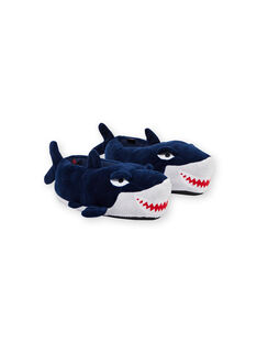 Pantoufle 3D Bleu marine KGBOOTREQ / 20XK3682PTD070