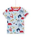 Tee Shirt Manches Courtes Ecru LOVITI1 / 21S902U1TMC001