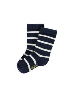 Chaussettes rayées bébé garçon FYUJOCHO5B / 19SI103ASOQ099