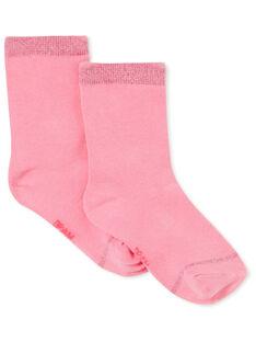 Paire de chaussettes enfant fille KYAJOCHO3 / 20WI0142SOQH700