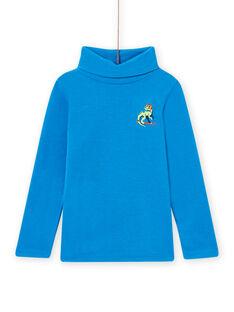 Sous-pull bleu motif dragon enfant garçon MOSKISOUP / 21W902R1SPLC221