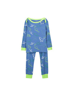 Pyjama en coton garçon FEGOPYJAOP / 19SH1244PYJ208