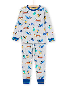 Pyjama Gris MEGOPYJDOG / 21WH1235PYJJ922