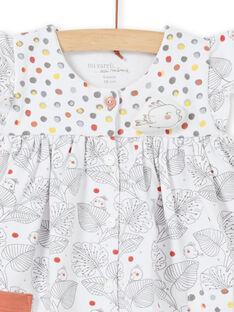 Ensemble robe manches courtes et legging naissance fille LOU1ENS1 / 21SF03H2ENS000