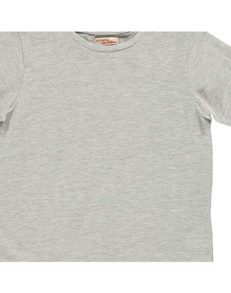 Tee-shirt manches courtes garçon COJOTI4B / 18S902R8D31J908