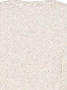 Gilet en maille bébé mixte FOU1GIL / 19SF0511GIL943