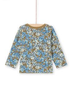 Tee Shirt Manches Longues Kaki MUKATEE2 / 21WG10I3TML604