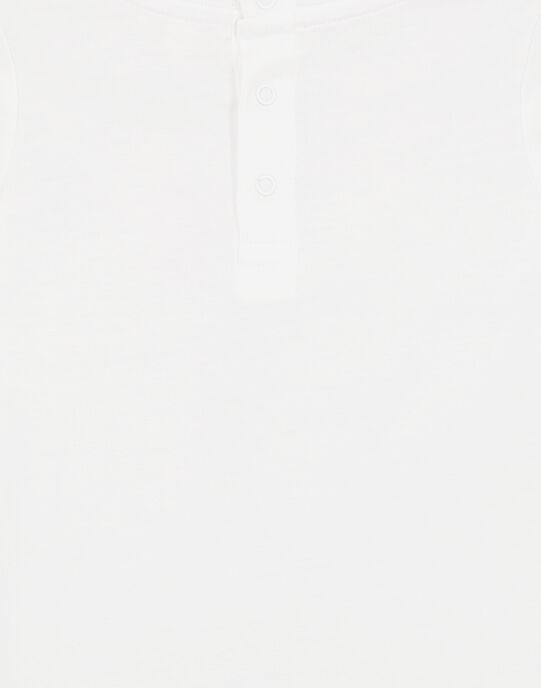 Tee Shirt Manches Longues Blanc GUNOTEE / 19WG10V1TML000