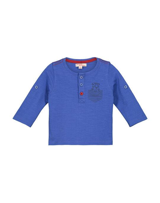 Tee Shirt Manches Longues Bleu FUJOTUN2 / 19SG1032TMLC207