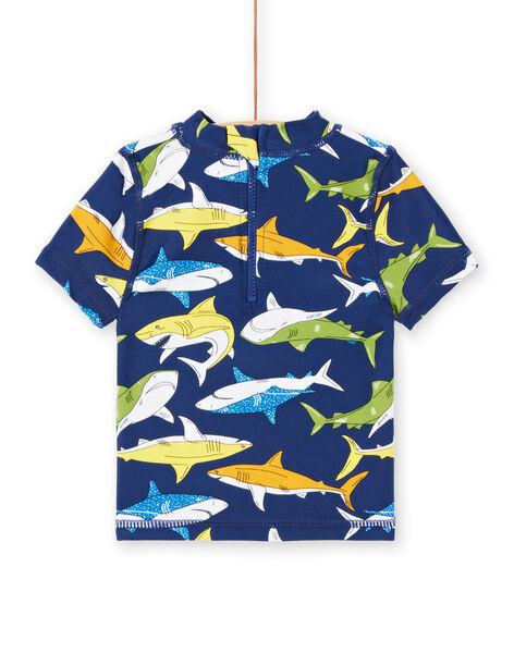 Tee-Shirt anti-uv Bleu marine LYUTEEUVEX1 / 21SI10D4TUV070