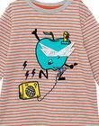 Tee Shirt Manches Longues Gris chiné JOVITEE2 / 20S902D2TML943