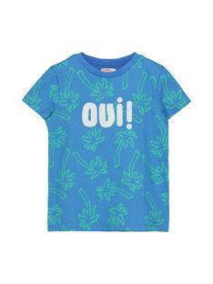 Tee-shirt fantaisie garçon FOTOTI6 / 19S902L6TMCC215