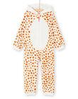 Surpyjama enfant fille motif girafe KEFASURGIR / 20WH11C1D4F001