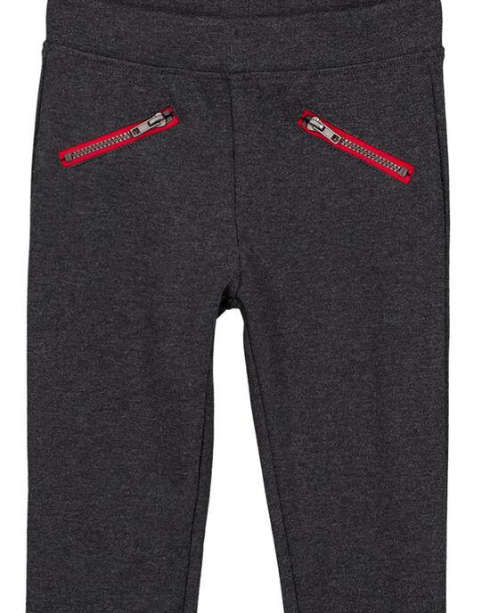 Pantalon Gris anthracite chiné GAJOMIL3 / 19W90146D2B944