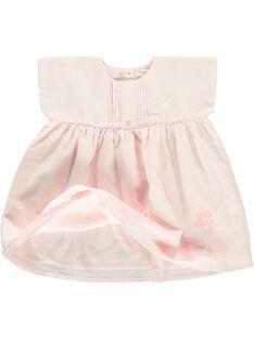 Robe manches courtes bébé fille CCFROBE1 / 18SF03B1ROB301