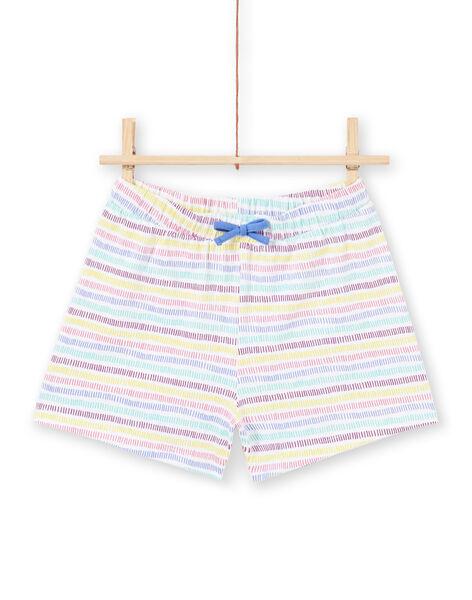 Pyjama short licornes enfant fille MEFAPYJRAY / 21WH1131PYJ000