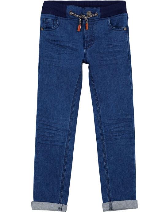 Jean Ultra stretch Avec ceinture rib + bouton GOSANJEAN / 19W902C1JEAP274
