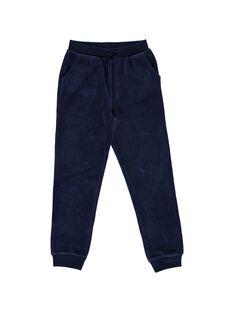 Pantalon de jogging en velours fille DAJOBAJOG4 / 18W901C4D2A070