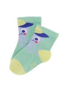 Chaussettes animaux bébé garçon CYUBUCHO / 18SI10K1SOQ630