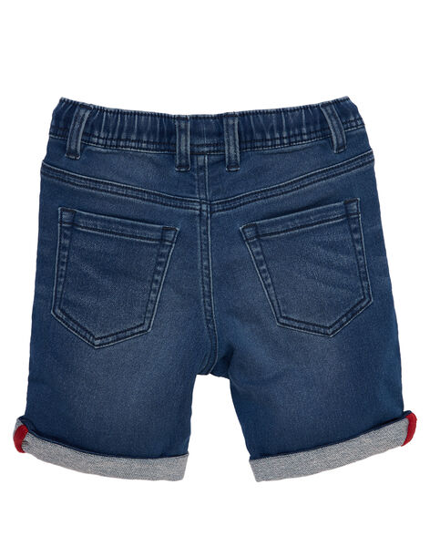 Bermuda garçon en denim stretch  JOCEABER2 / 20S902N4BERP274