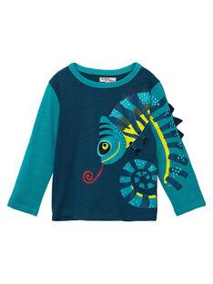 Tee Shirt Manches Longues Bleu marine JOCLOTEE2 / 20S90212TML715