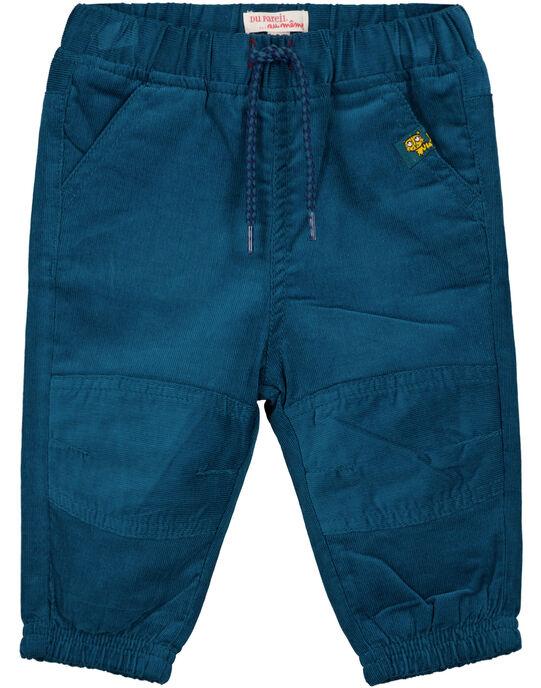 Pantalon Bleu marine GUJOPAN4 / 19WG1031PAN715