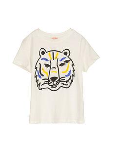 Tee-shirt manches courtes fantaisie garçon FOJOTI2 / 19S90232D31001
