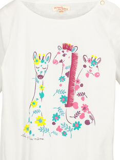 Tee-shirt manches longues fille FACATEE1 / 19S901D1TML000