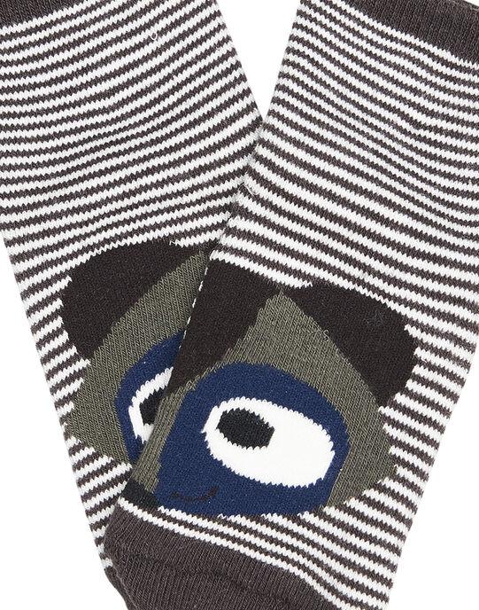 Chaussettes anti-dérapente. GYUBRUCHOS / 19WI10K1SOQI804