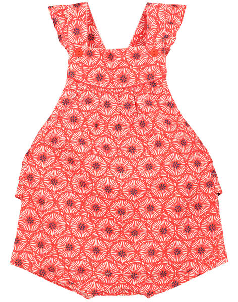 Barboteuse imprimé bébé fille FITOBAR / 19SG09L1BAR330
