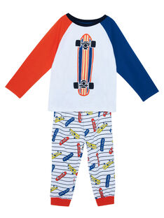Pyjama en jersey enfant garçon JEGOPYJSKA / 20SH1224PYJ000