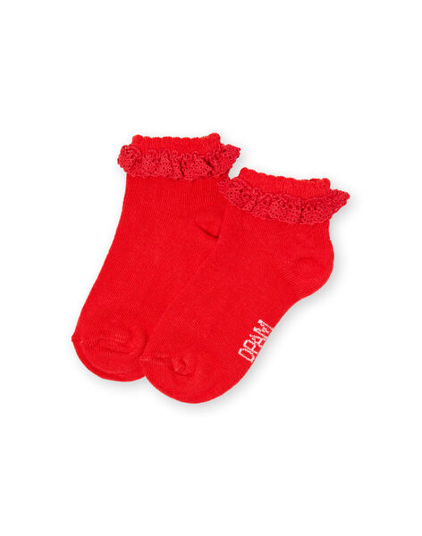 chaussettes layette fille LYIJOSOQDEN4 / 21SI0945SOQF505