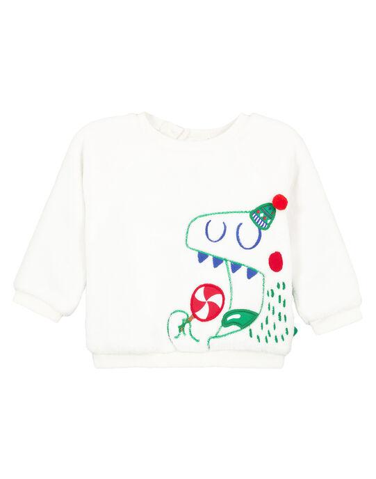 Sweat Shirt Blanc GUNOSWE / 19WG10V1SWE000
