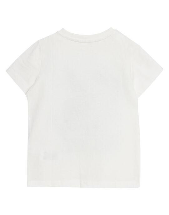 Tee shirt garçon écru reptiles JOSAUTI5 / 20S902Q4TMC001