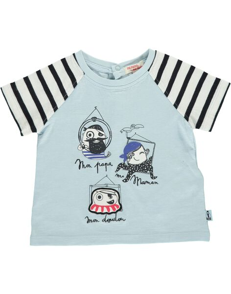 Tee-shirt manches courtes bébé garçon CUBENTI1 / 18SG10G1TMC218