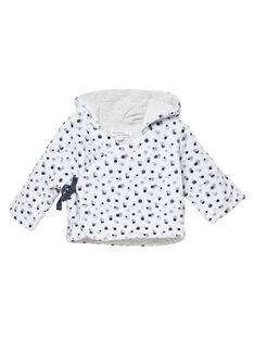 Veste confortable à capuche velours naissance mixte JOU1VES / 20SF05J1VES000