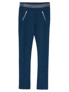 Pantalon Bleu marine JACLOPANT / 20S90111PAN705