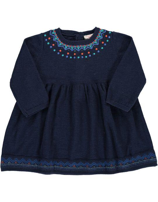 Robe Bleu nuit DIBLEROB3 / 18WG0993ROBC205