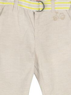 Pantalon bébé garçon FUPOPAN / 19SG10C1PANI811