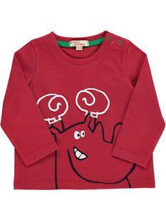 Tee-shirt manches longues fantaisie bébé garçon DUJOTEE4 / 18WG1034TML510