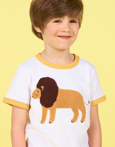 Tee Shirt Manches Courtes Blanc LOJAUTI / 21S902O1TMC000