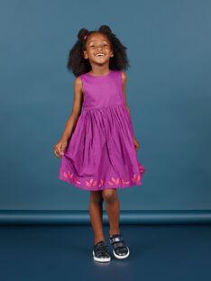 Robe sans manches réversible enfant fille MAPAROB1 / 21W901H1ROBC205