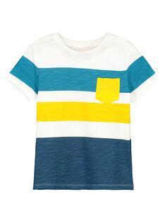 Tee-shirt manches courtes garçon FOTUTI6 / 19S902F6TMC001