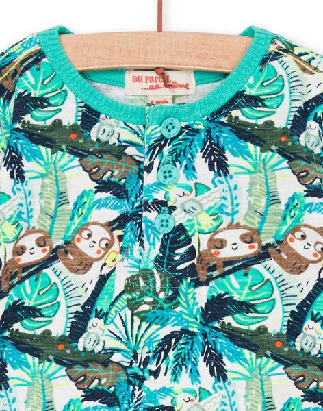 Tee Shirt Manches Longues Ecru LUVERTUN / 21SG10Q1TML001