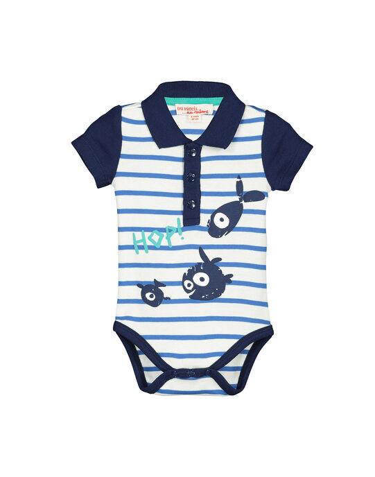 Body manches courtes bébé garçon FUNEBOD / 19SG10B1BOD099