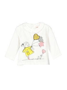 Tee-shirt manches longues bébé fille FILITEE / 19SG0921TML001