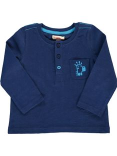 Tee-shirt manches longues bébé garçon CUJOTUN3 / 18SG10R5TML070