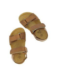 Sandale en cuir bébé garçon CBGNUVEL1 / 18SK38W8D0E804