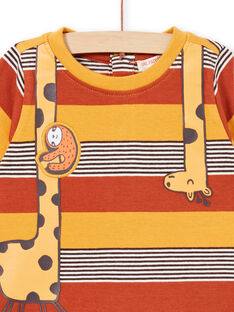 Tee Shirt Manches Courtes Orange LUTERTI4 / 21SG10V2TMCF519