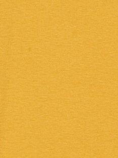 Sous pull jaune garçon KOJOSOUP1 / 20W90244D3BB105